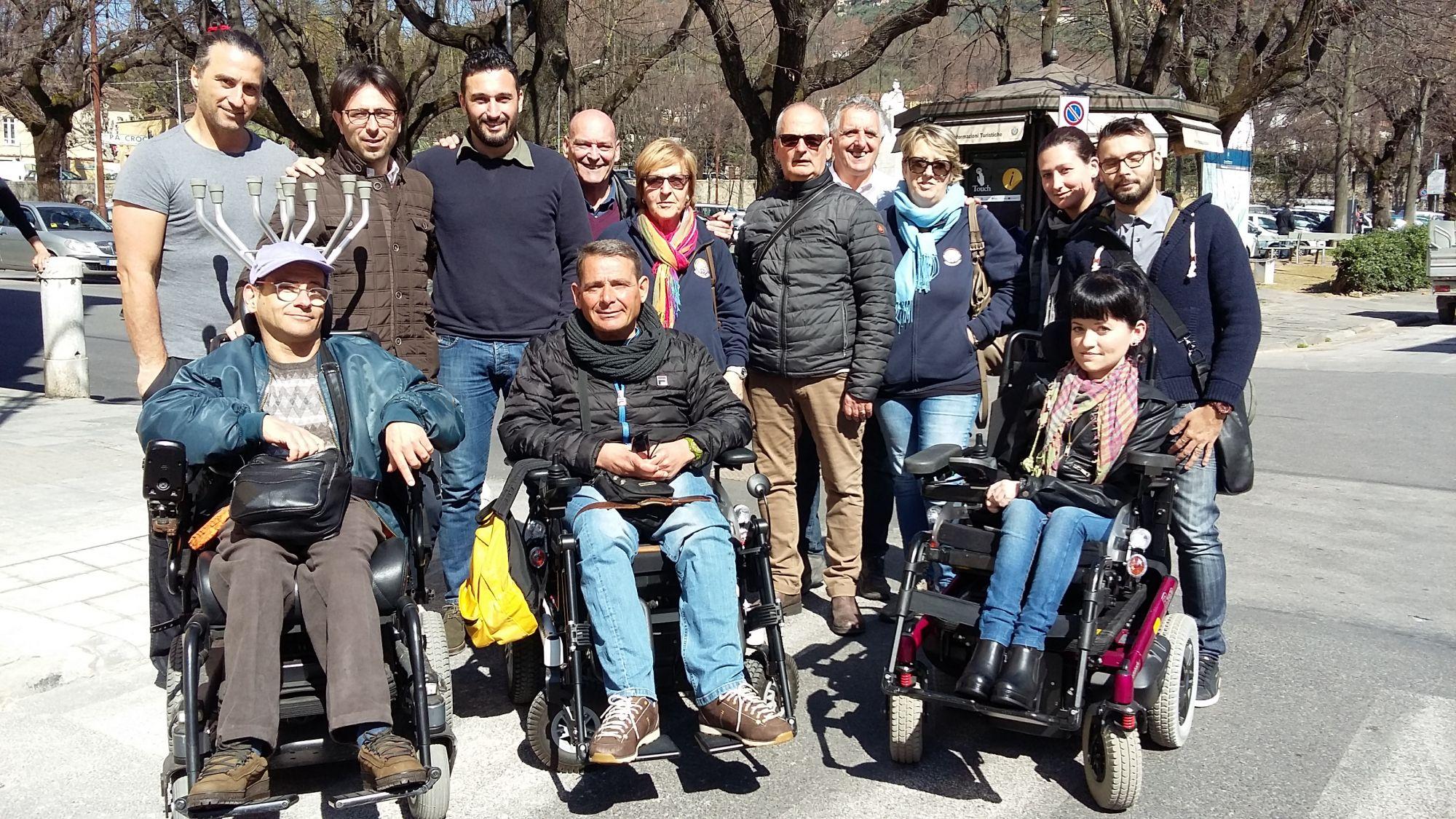 Al via un progetto per rendere la città di Pietrasanta agibile a tutti