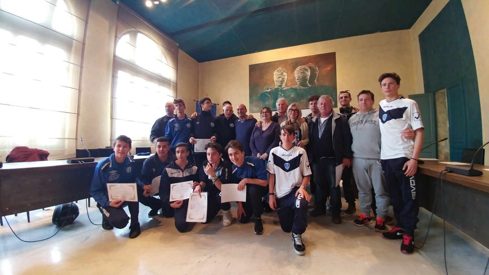 Premiati gli atleti che portano alto il nome del Comune di Pietrasanta