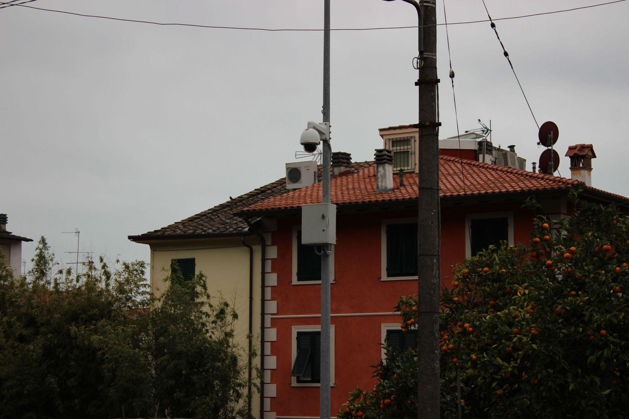 Altre 4 telecamere contro vandali e graffitari su tutto il comune