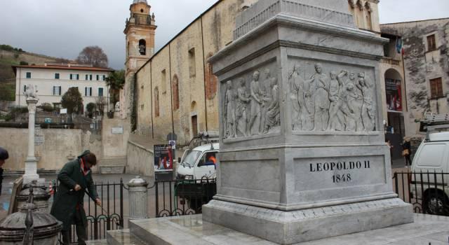 Restyling dei monumenti, Leopoldo di Piazza Duomo torna a splendere