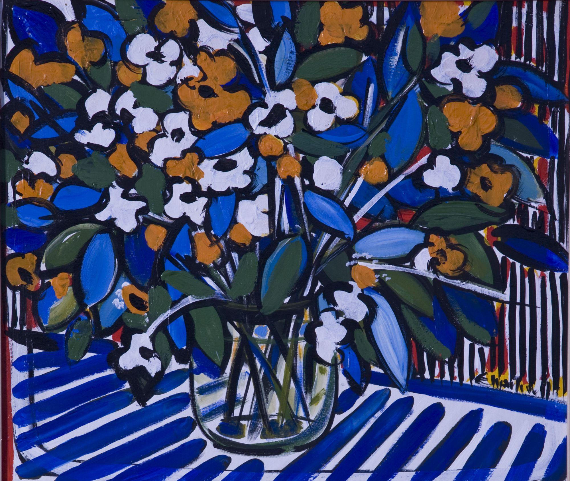 """""""7 artisti in galleria"""", mostra di pittura collettiva"""