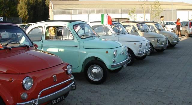 Fiat 500 vecchie e nuove da General Auto