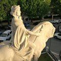 Monumento ai Caduti con arto ripristinato