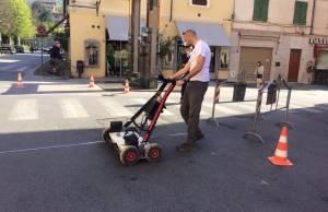 Foto georilevatore pozzo anticho Piazza Crispi