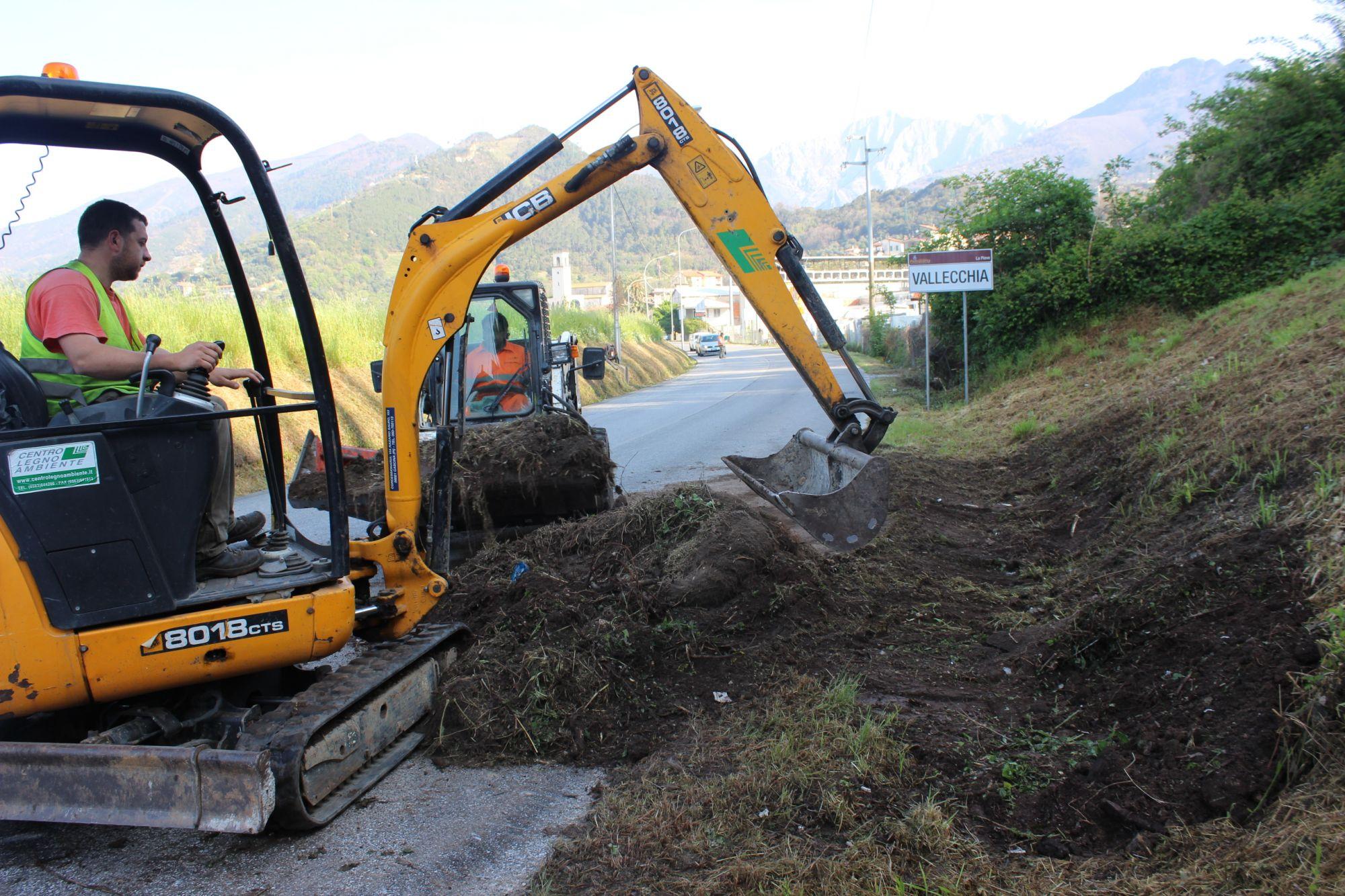 Nuovi interventi per ripulire le strade di tutto il Comune