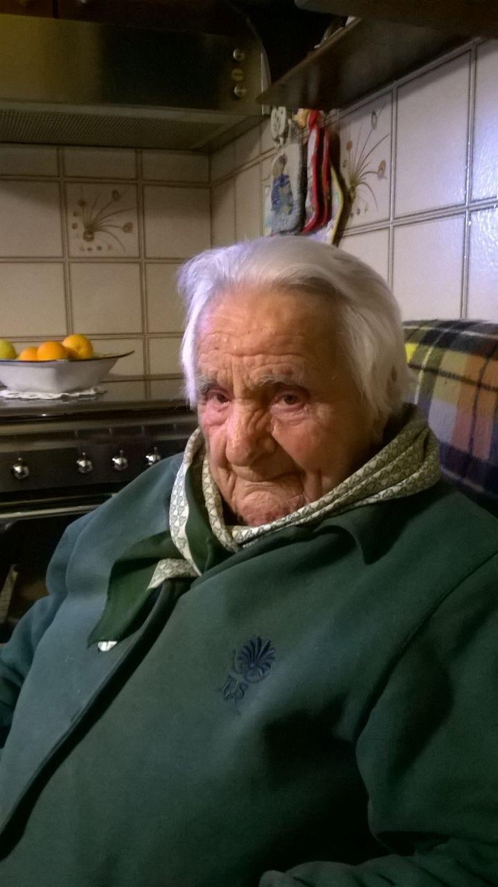 Addio alla nonna di Casoli Angela Pardini