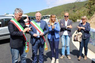 Inaugurazione frana Metati Rossi