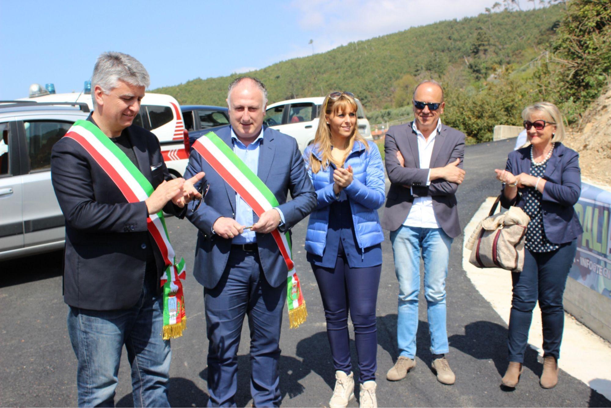 Conclusi i lavori per la ricostruzione della frana a Metati Rossi