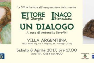 """""""Ettore di Giorgio – Inaco Biancalana: un dialogo""""."""