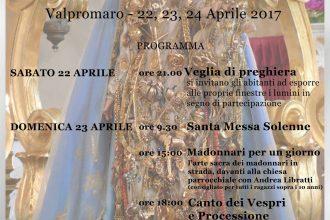 Manifesto Festa Madonnina Miracoli