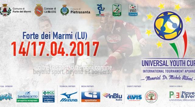 A Forte dei Marmi torna la Universal Youth Cup