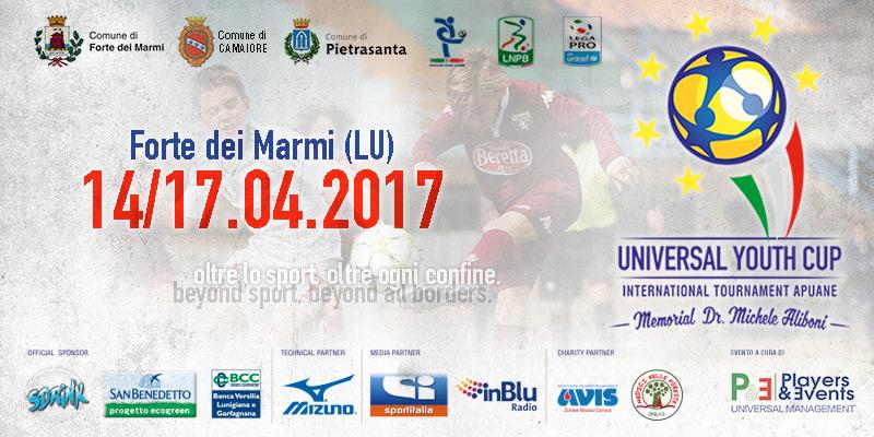 """Universal Youth Cup – Torneo Internazionale Apuane"" in Versilia"