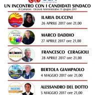Capezzano incontra i candidati Sindaco