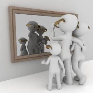 Come cambia il corpo davanti allo specchio