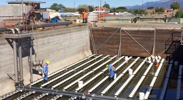 Il Comune sosterrà il progetto di Gaia per la realizzazione della terza vasca del depuratore di Camaiore