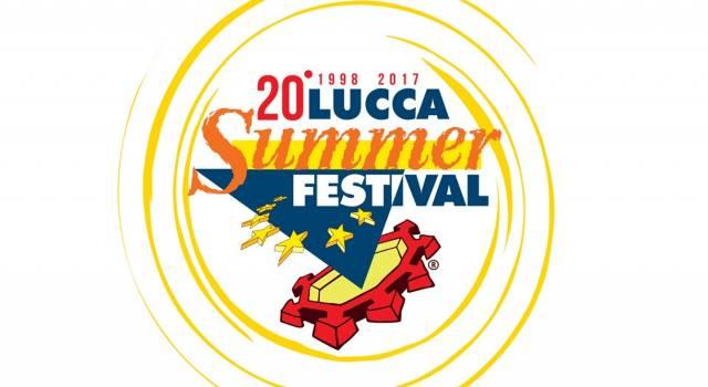 Lucca Summer Festival 2017, ecco il programma delle serate della 20esima edizione