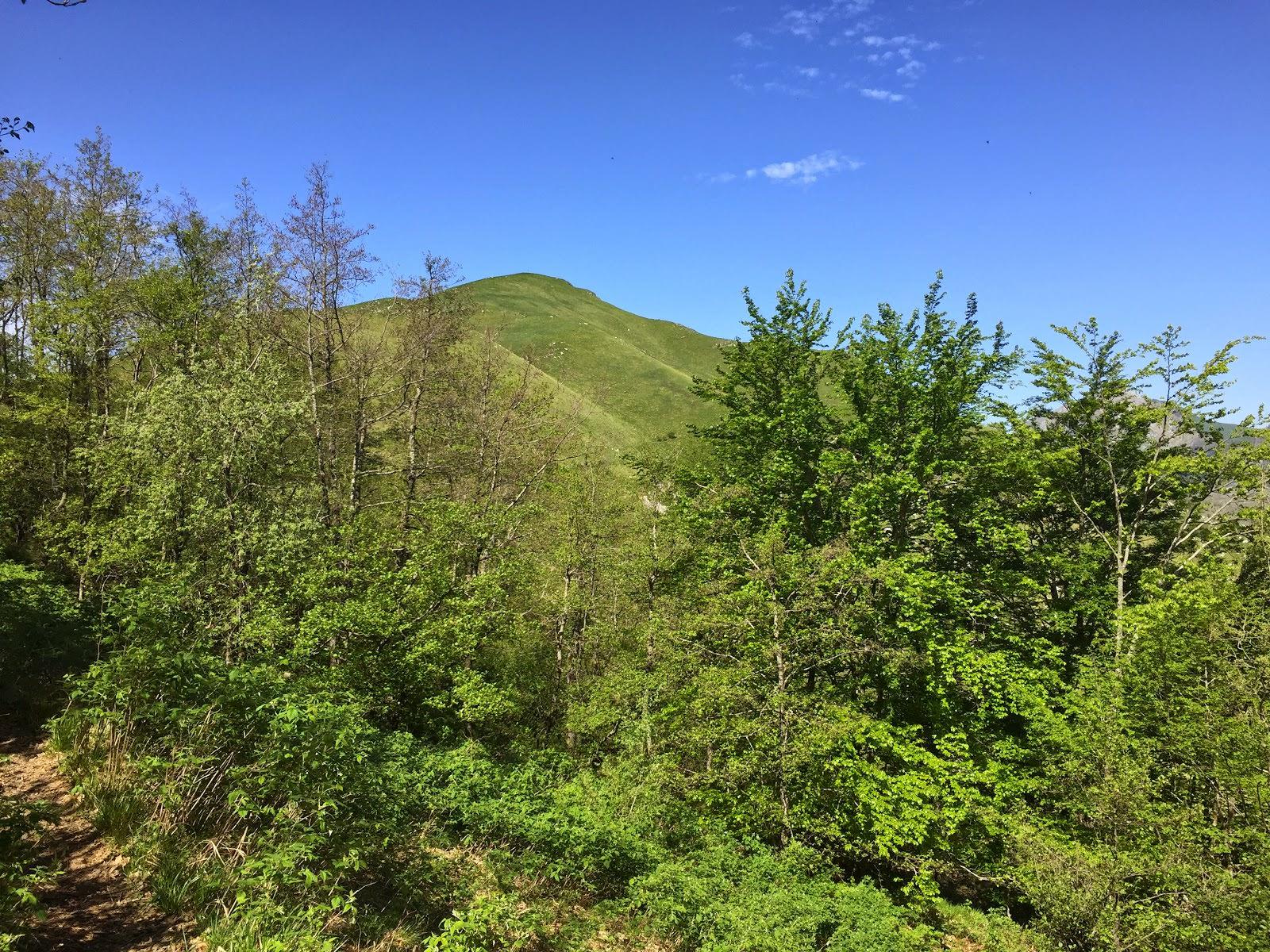 Trekking in vetta al Monte Croce