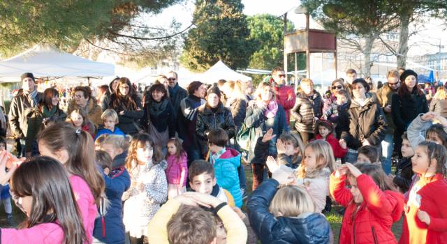 Festa per i bimbi, giochi e sport con l'Associazione T.i.a.m.o
