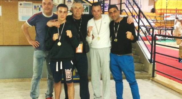 La Boxe Stiava vince tre medaglie d'oro in Lombardia