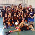 squadra Under 15 del Versilia Basket