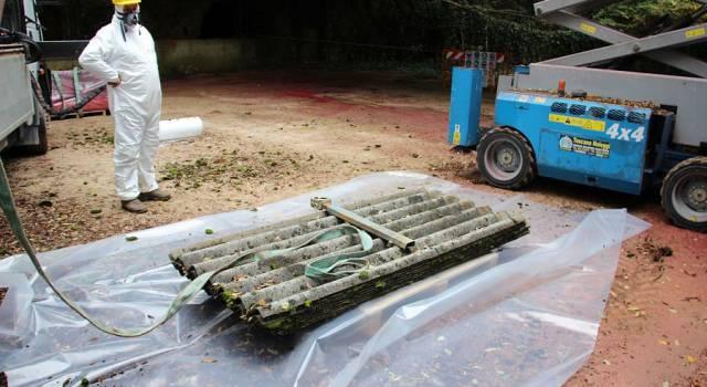 Rimozione dell'amianto dalle ex miniere Edem e messa in sicurezza della zona