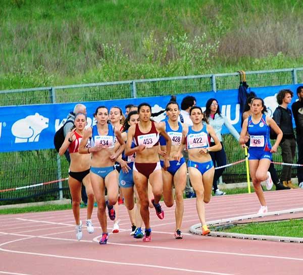 Atletica, nuovo personale per Camilla Feliciani sugli 800 metri