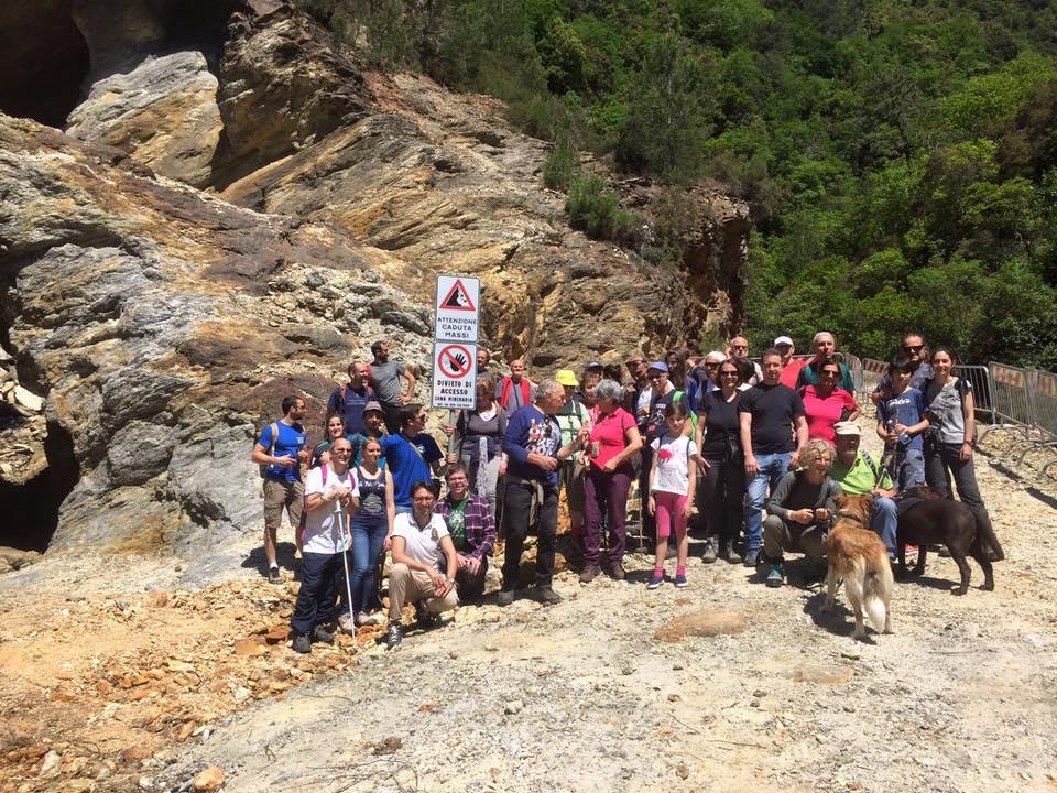 Giornata delle miniere a Valdicastello, 60 visitatori al nascente parco geominerario