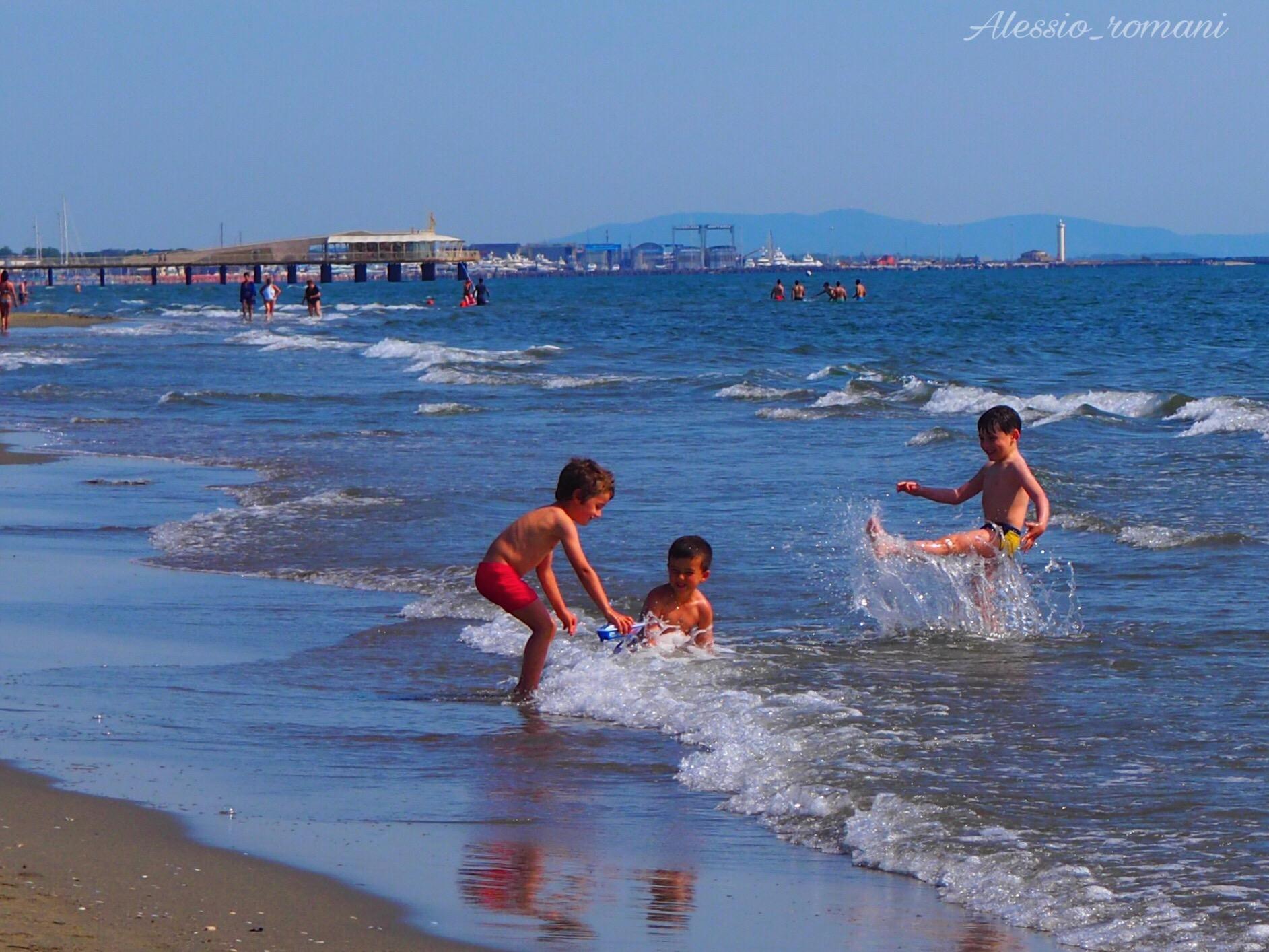 Giochi in mare