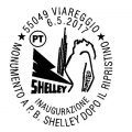 annullo filatelico Persy Bysshe Shelley
