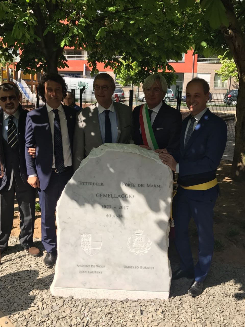 Buratti e Tonini cittadini onorari di Etterbeek