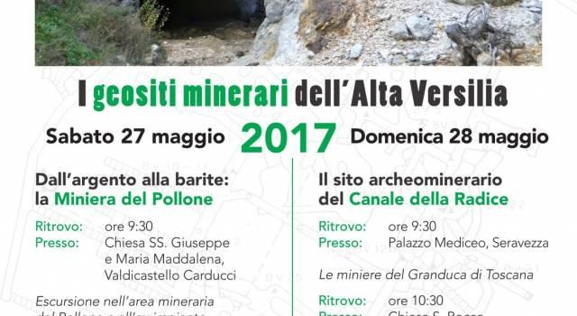 Escursioni nelle miniere dell'Alta Versilia