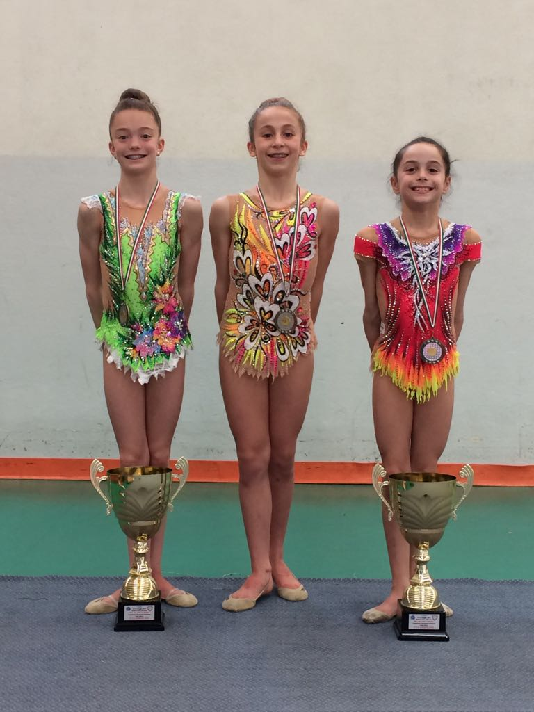 Due titoli italiani per la Motto al campionato di ginnastica ritmica