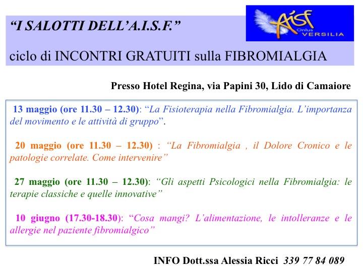 Seminari gratuiti con specialisti per la sindrome fibromialgica