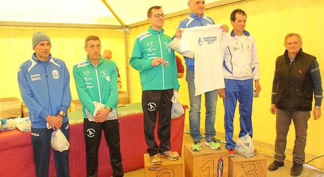 Luca Sarti Campione toscano di Cross e Mezza Maratona di Lucca 2017