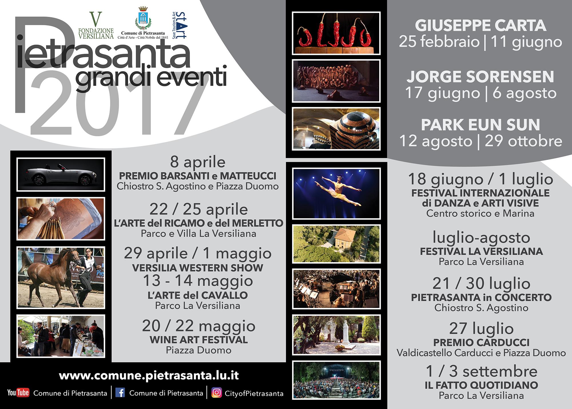 Oltre 150mila visitatori per mostre, musei e opere d'arte a Pietrasanta
