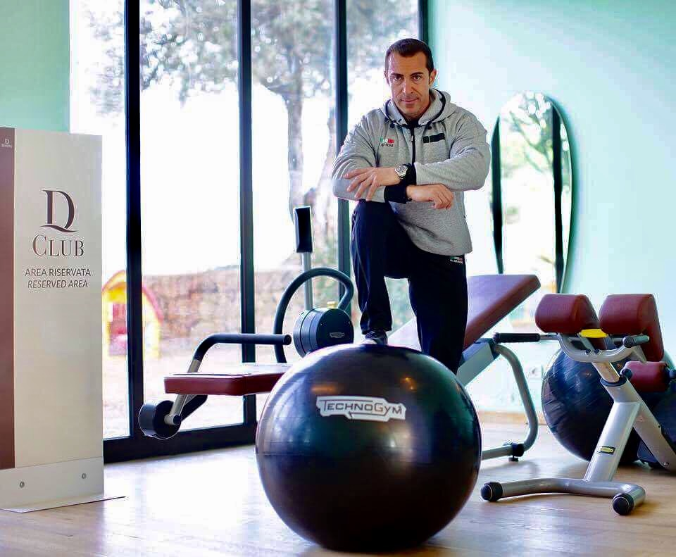 """Il personal trainer dei vip Massimo Alparone """"Wellness Ambassador"""""""