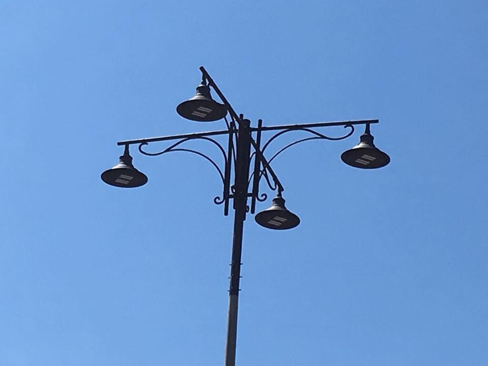 Nuovi lampioni in passeggiata, al via le installazioni