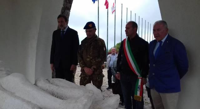 Il Capo di Stato Maggiore dell'Esercito in visita al Parco Nazionale della Pace