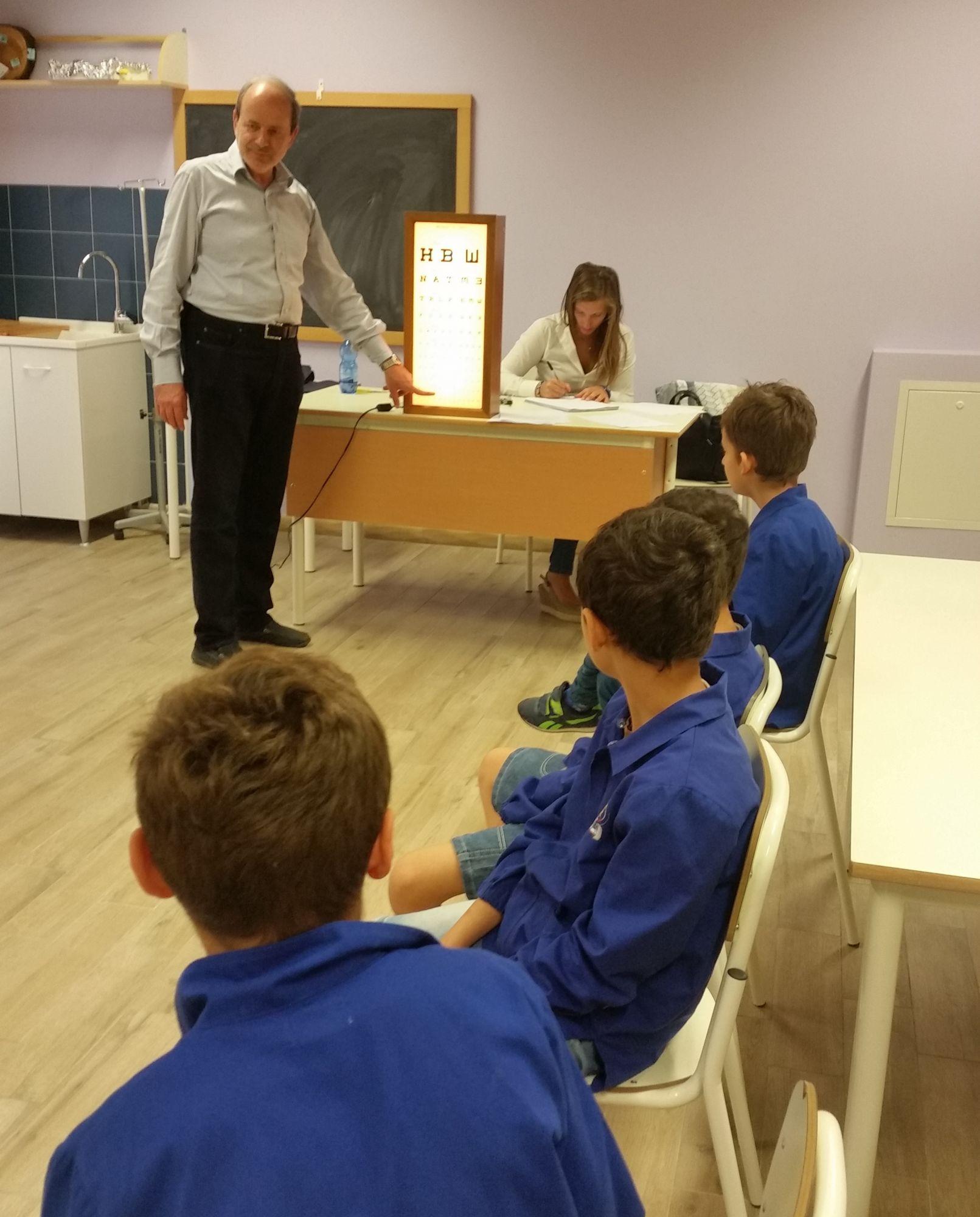 Screening visivi ai bambini nelle scuole con Lions Club Massarosa