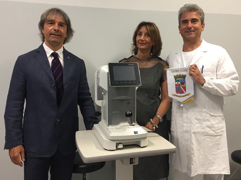 lions club viareggio ospedale versilia oculistica