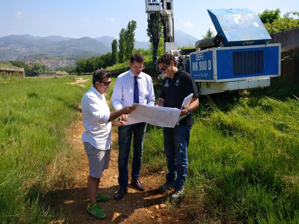 Campionamenti sui terreni del Baccatoio, prelievi nell'area ex inceneritore