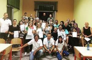 Foto corso defibrillatore Crociale