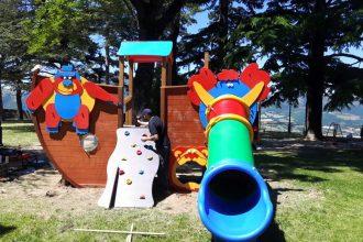 Foto parco giochi per Camerino da Pietrasanta