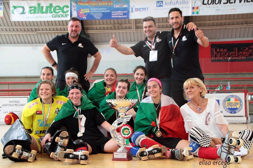 Il Breganze vince lo scudetto nell'Hockey femminile