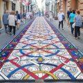tappeti di segatura di Camaiore 2017 destinazione terra