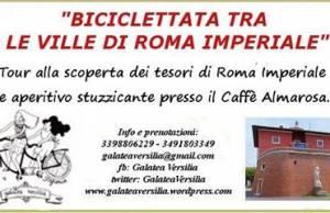 biciclettata ville roma imperiale