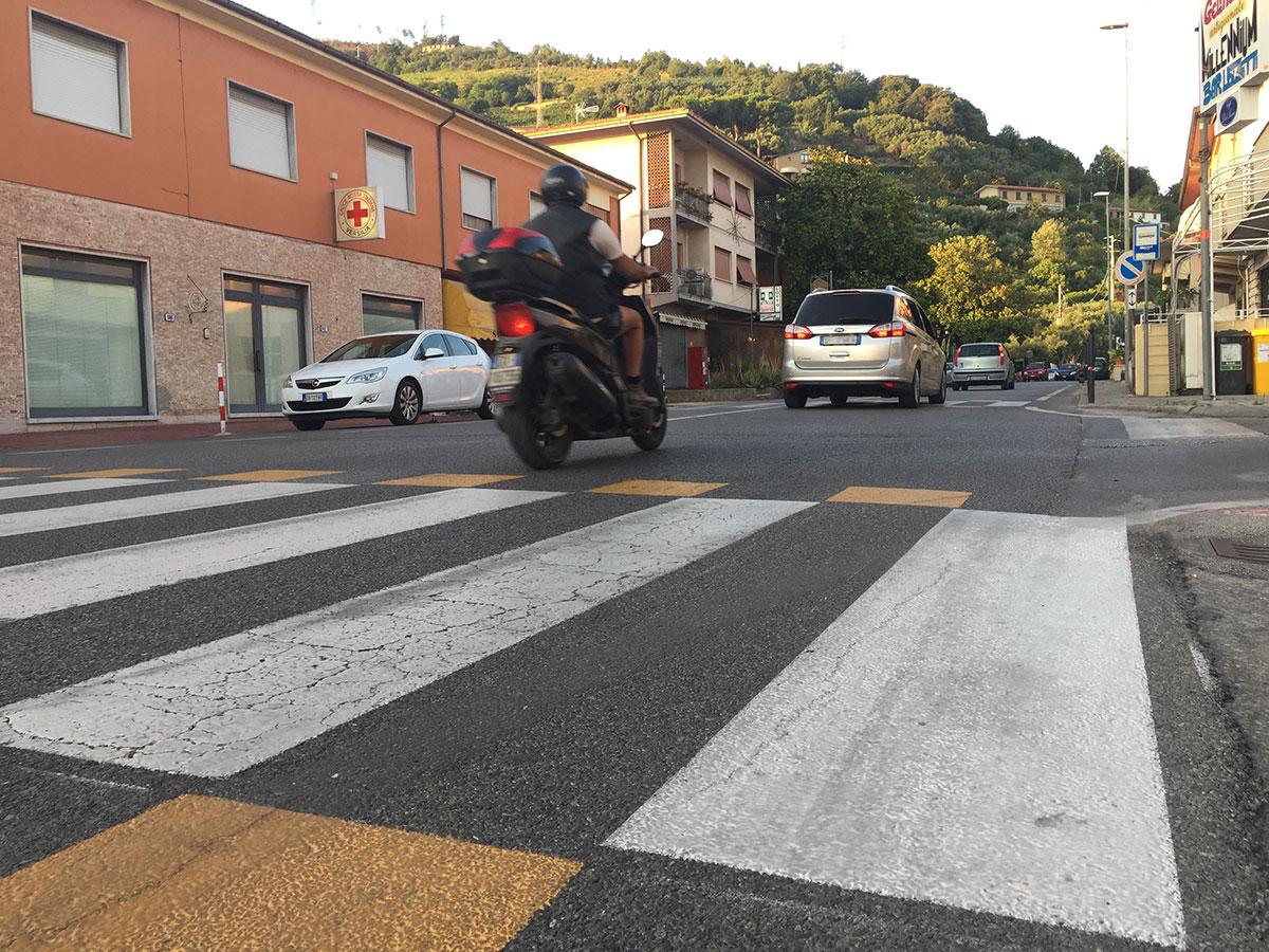 Al via un intervento sugli attraversamenti pedonali a Ripa per la sicurezza stradale