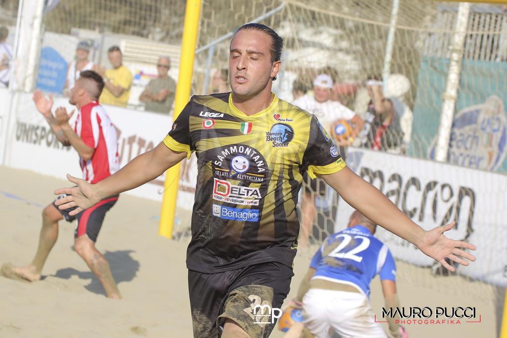 Beach soccer, il Viareggio stende la Vastese