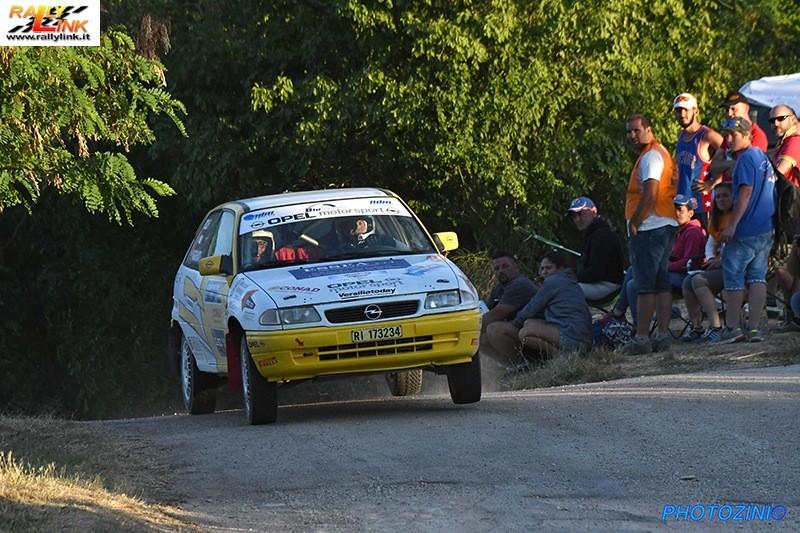 Rally, in bocca al lupo del comune all'equipaggio fortemarmino