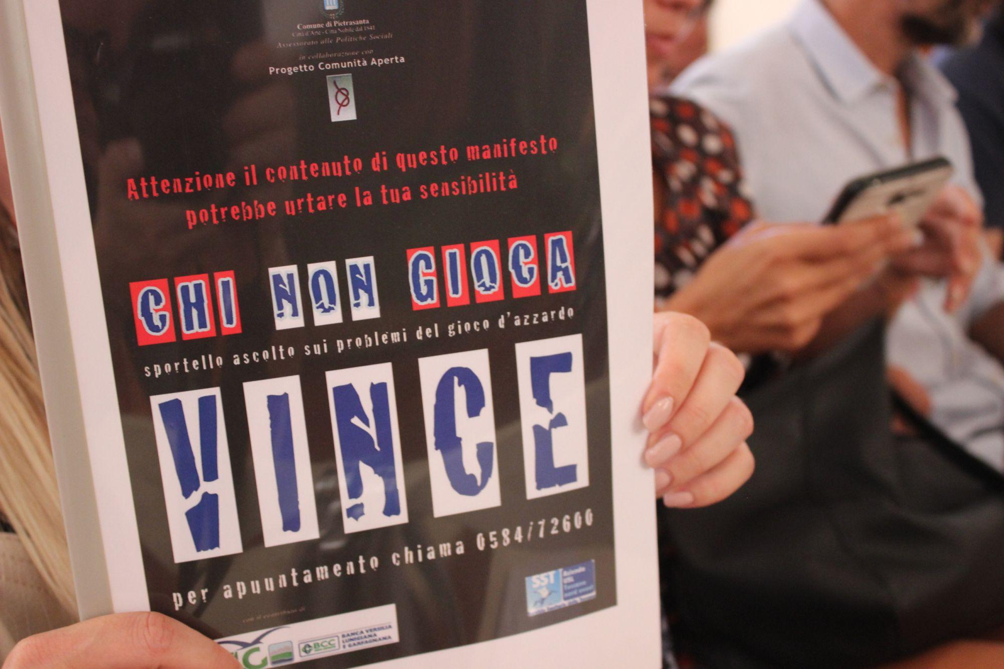 Arriva lo sportello contro la ludopatia, centinaia di casi in Versilia